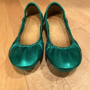 Tieks by Gavrieli ballet flats. Size 10. Emerald.